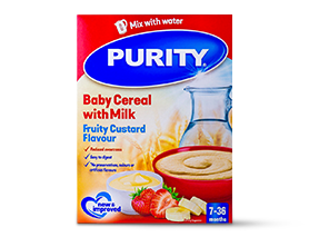 Purity RTE Cereal- Fruity Custard (JAW)